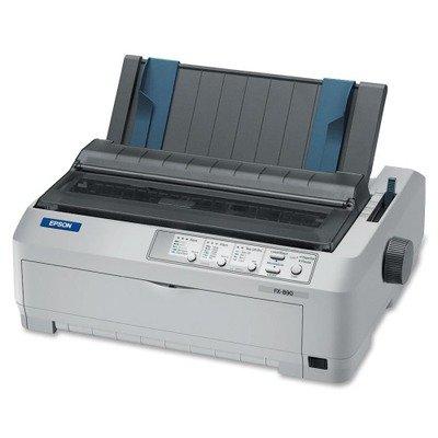 Epson - FX-890 Dot Matrix Impact Printer C11C524001 DMi EA
