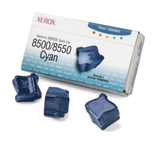 Xerox 108R00669 Ink Cartridge Cyan3-Pack