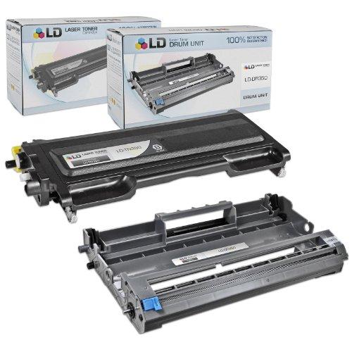 LD © Compatible Brother TN350 DR350 Combo Pack Toner Cartridge Drum unit Includes 1 Black TN350 1 Drum Unit DR350