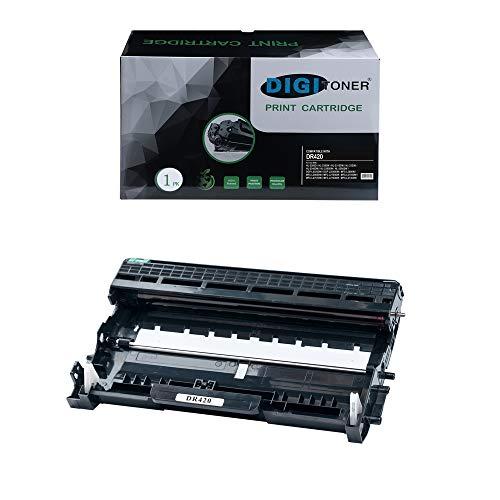 DIGITONER Yield Compatible Drum Replacement for Brother DR420 DR 420 Drum 1 Unit for Brother HL2130 HL2132 HL2220 HL2230 HL2240 HL 2240 HL2240D HL2240DW 1 Pack