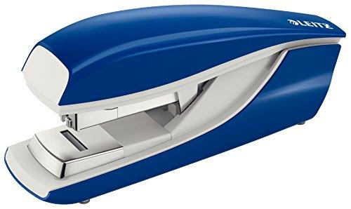 Leitz 5523 Flat Clinch Stapler Opens 180 degrees 266 246 Capacity 40 Sheets Blue Ref 55230035