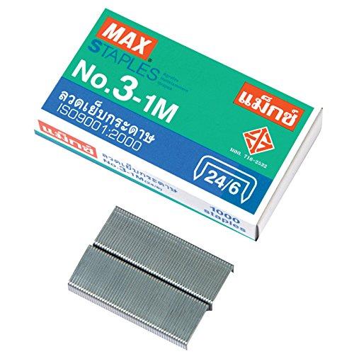 MAX No10-1M Flat Clinch Stapler Mini Box of 1000 by MAX No10