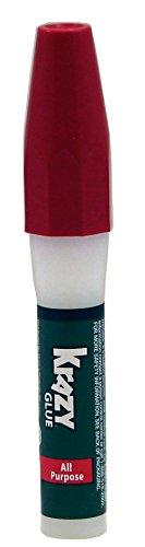 Krazy Glue Kg82448r Instant Crazy Glue All Purpose Pen 0106-ounce 3 Pack