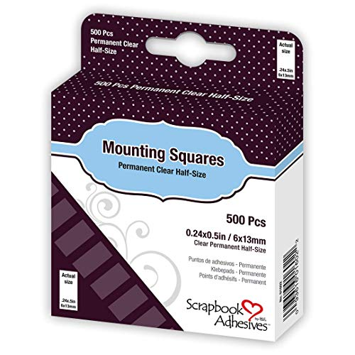 Scrapbook Adhesives by 3L Scrapbook Adhesives Mounting Squares Clear