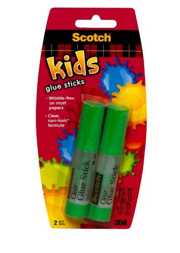 Scotch Glue Sticks 027 Ounces 2 Sticks 6008CGS-K