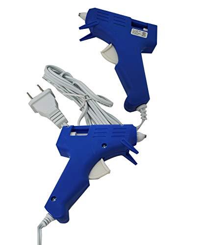 Hot Melt Mini Glue Gun 2 Pack for Arts Crafts Schools Repairs