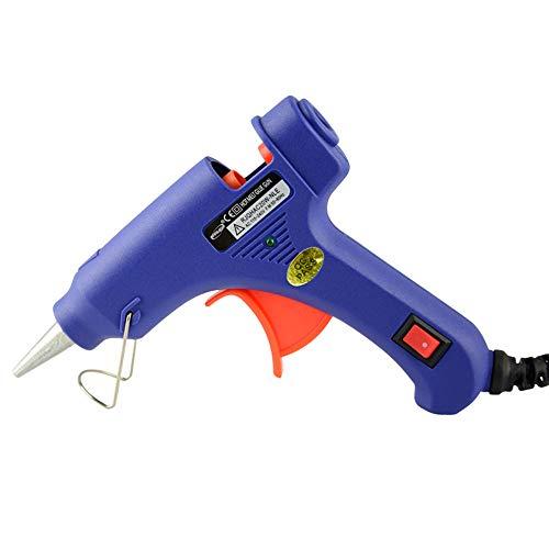 Mini Glue Gun 20 Watts High Temperature Glue Gun for DIY Small Projects Home Quick RepairsModel SD - E Blue