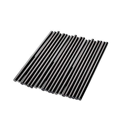 Black Hot Melt Glue Stick Strips Baffo 20 Pcs High Adhesive Hot Glue Gun Sticks for Car Audio DIY Art Craft Home Office Project Craftwork Fix Repairs Diameter 028 inch Length 787 inch
