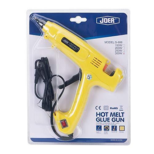 Hot Glue Gun with onOff Switch SUPERIORFE 300 Watt Professional High Temperature Rapid Heating Melt Glue Gun with 20 Pcs Premium Glue Sticks