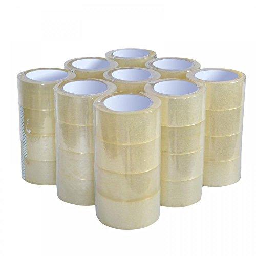 Heavy Duty Sealing Pack Sealing Clear PackingShippingBox Tape 12 Rolls Carton