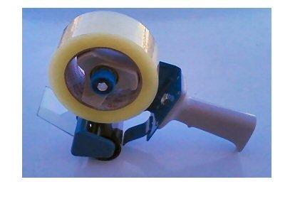 2  tape Gun - holds 2 x 55 or 2 x 110 Yards Carton Tape Metal Construction