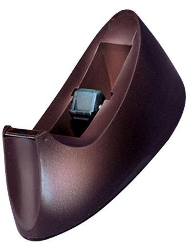 Charles Leonard Desktop Tape Dispenser Weighted Base and Non-Slip Base Brown 900-BN