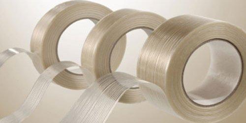 12 Rolls Filament Reinforced Tape 1 12 x 60 Yards 39 Mil Fiberglass Packing