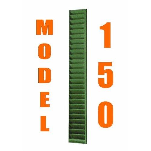 VICS Wide Swipe Card Badge Rack Freedom Model 150 25 Slot-Green