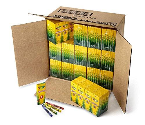 Crayola Crayons Bulk 360 Box Classpack 4 Assorted Colors