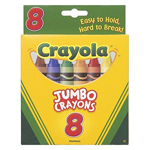 Bulk Buy Crayola 3-Pack Jumbo Crayons 8Pkg 52-0389