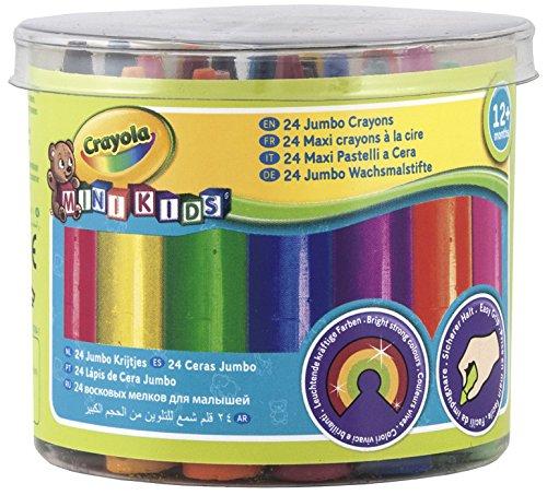 Crayola Mini Kids 24 Jumbo Crayons