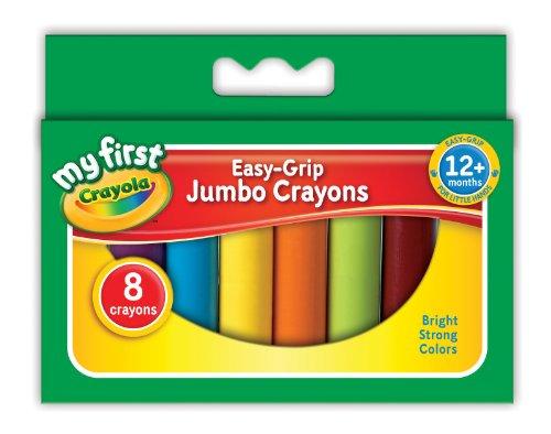 Crayola My First Crayola Jumbo Crayons 8 Pieces