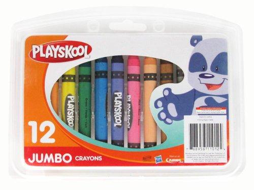 Playskool 12-Count Jumbo Crayons