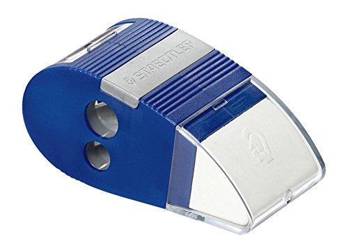 Staedtler LatexPVC Free Eraser with 2 Hole Sharpener Combo  Extra Eraser Refill