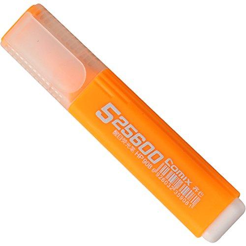MYLIFEUNIT Highlighter Marker Pen Stationery School SuppliesSet Of 10 Orange