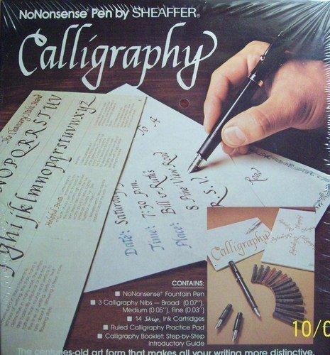 No Nonsense Pen By Sheaffer Calligraphy Kit