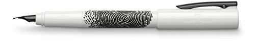 Faber Castell WRITink Fountain Pen Fine Nib F White Fingerprint FC149341