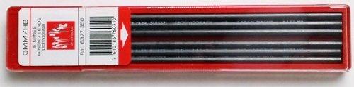 Caran Dache Refills Technograph 3mm HB Pencil Leads 6 per Pack 6377350