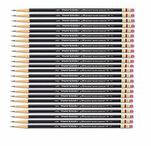 Paper Mate Mirado HB 2 Black Warrior Woodcase Pencil 24 count PAP2254
