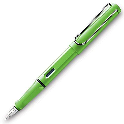 Lamy Safari Fountain Pen Green Fine Point L13GNF