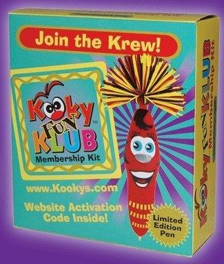 1 X The Kookys Kooky Fun Klub Membership Kit With Limited Edition Pen