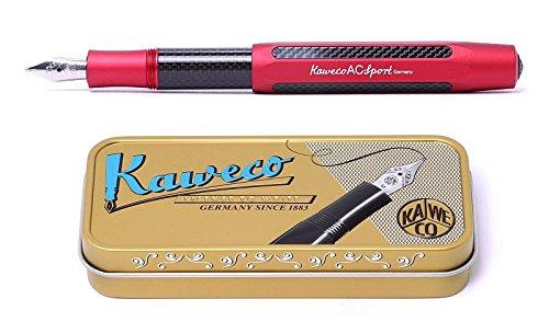 Kaweco AC Sport fountain pen red Limited Edition Pen Nib F fine