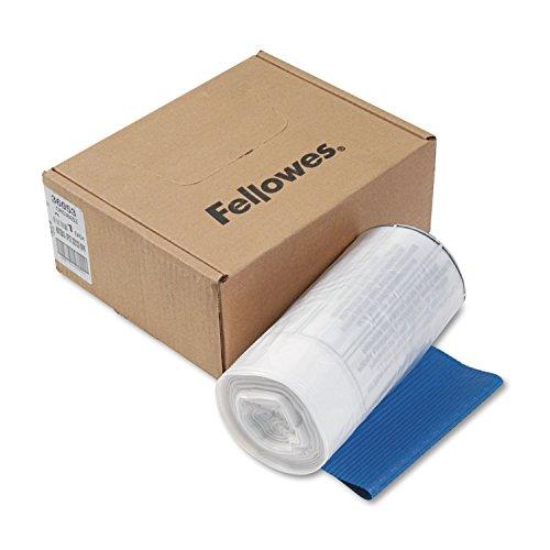 Fellowes 36053 Shredder Bags 9 Gal F99CI90S 15-Inch x14-Inch x30-Inch 100CTCL
