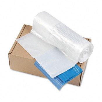 Powershred Shredder Bags for Models C-380 C-380C 50 Bags TiesCarton Clear