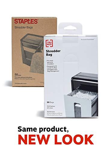 Staples Shredder Bags 158 Gal 50 Count