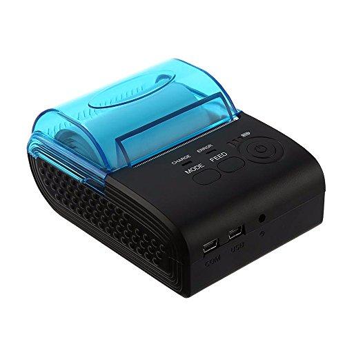 Milestone Wireless Mini Bluetooth Printer POS Thermal Receipt Printer Bill Machine MHT-5805DD