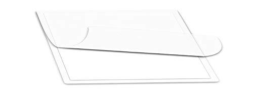 Qty 500 Jumbo Card Laminating Pouches 2-1516 x 4-18 Hot Laminator Sleeves 5 Mil