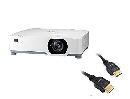 Bundled NEC NP-P525WL 5200-Lumen WXGA Projector with 2 HDMI Cables
