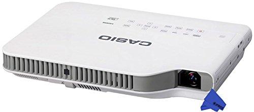 Casio XJ-A257 Ultra-Slim LED WXGA Projector with Wi-Fi  Psc Lens Cloth 3 000 Lumens