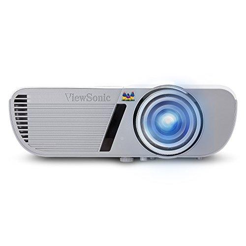 ViewSonic PJD5553LWS 3200 Lumens WXGA HDMI Short Throw Projector One Size White