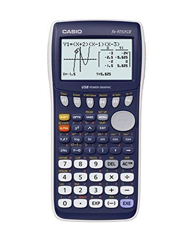 Casio fx-9750GII Graphing Calculator Blue