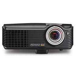 ViewSonic PJD5352 XGA Short Throw DLP Projector -120Hz3D Ready 2600 Lumens 26001 DCR 12x Optical Zoom