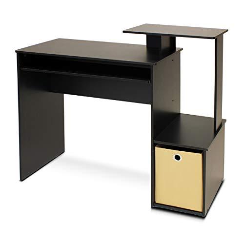 Furinno Econ Multipurpose Home Office Computer Writing Desk BlackBrown