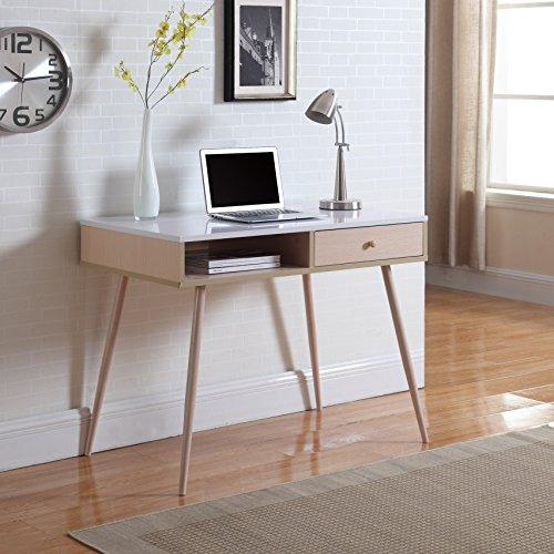 Madison Home Mid-Century Modern Small Work  Computer Desk