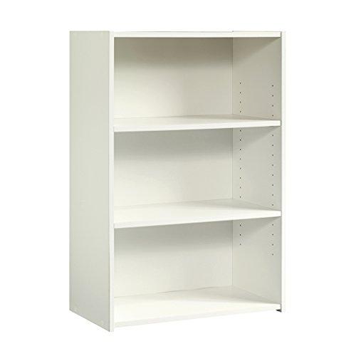 Sauder Beginnings 3-Shelf Bookcase Soft White finish