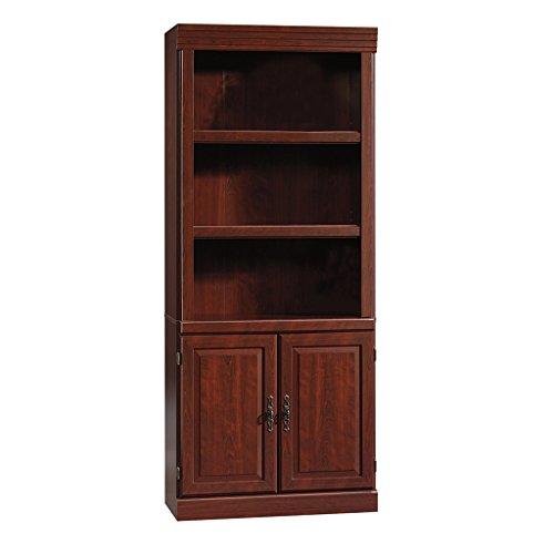 Sauder Heritage Hill 2-Door Bookcase Classic Cherry