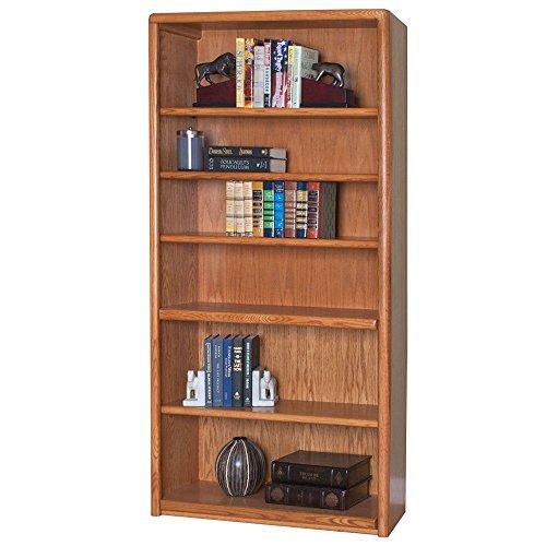 Martin Furniture Medium Oak Six Shelf Bookcase - 36 W x 125 D x 70 H Dimensions 36 W x 125 D x 70 H Weight 180 lbs