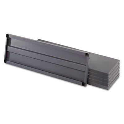 Heavy-Duty Industrial Steel Shelving Six-Shelf 36w x 24d Dark Gray Sold as 1 Each