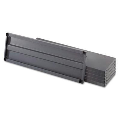 Safco - Heavy-Duty Industrial Steel Shelving Six-Shelf 48W X 18D Dark Gray Product Category Office FurnitureShelving