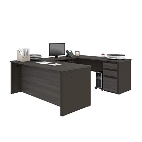 U-Shaped Desk with Pedestal